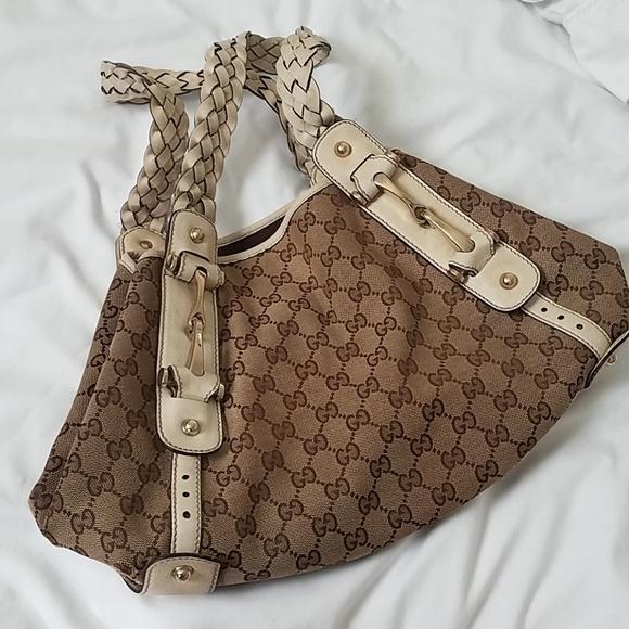 1a074bdc2898 Gucci Bags | Pelham Horsebit Monogram Shoulder Bag | Poshmark